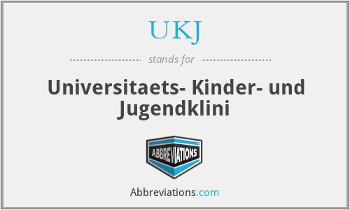 UKJ - Universitaets- Kinder- und Jugendklini