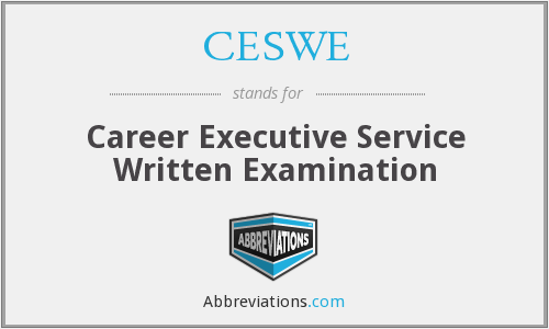 What does CESWE stand for?