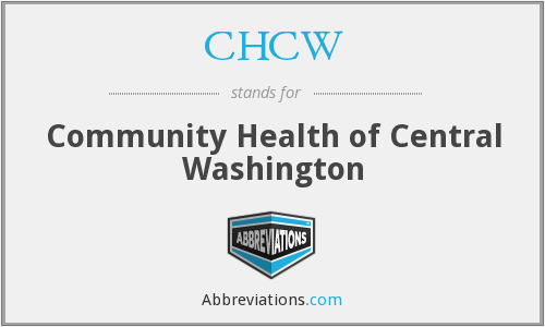 CHCW - Community Health of Central Washington