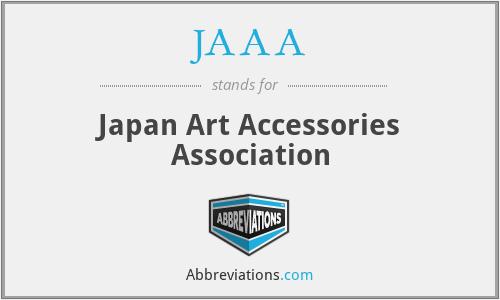 JAAA - Japan Art Accessories Association