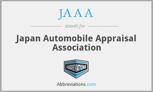 JAAA - Japan Automobile Appraisal Association