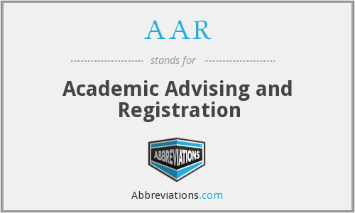 AAR - Academic Advising and Registration