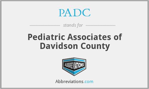 PADC - Pediatric Associates of Davidson County