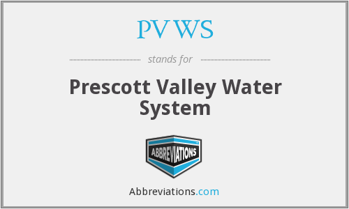 PVWS - Prescott Valley Water System