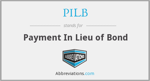 What does PILB stand for?