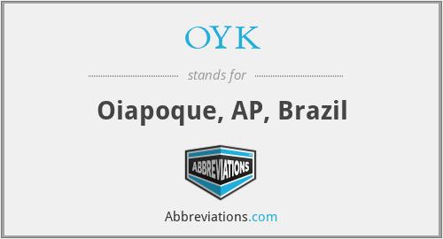 OYK - Oiapoque, AP, Brazil