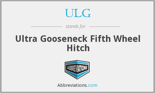 ULG - Ultra Gooseneck Fifth Wheel Hitch