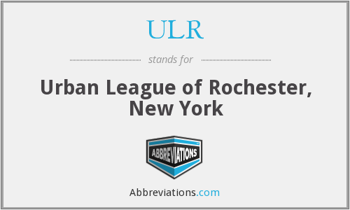 ULR - Urban League of Rochester, New York
