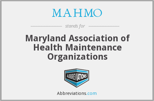 What does MAHMO stand for?