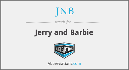 JNB - Jerry and Barbie