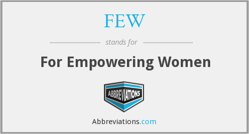 FEW - For Empowering Women
