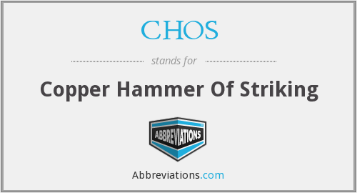 What does CHOS stand for?