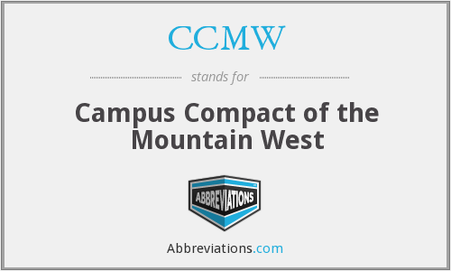 What does CCMW stand for?