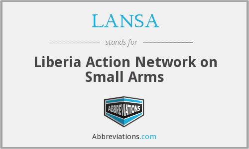 What does LANSA stand for?