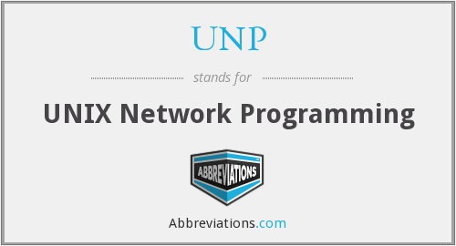 UNP - UNIX Network Programming