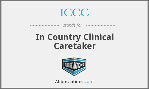 ICCC - In Country Clinical Caretaker