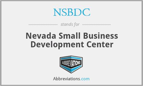 NSBDC - Nevada Small Business Development Center