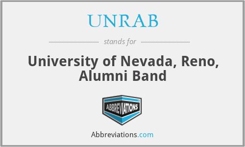 UNRAB - University of Nevada, Reno, Alumni Band