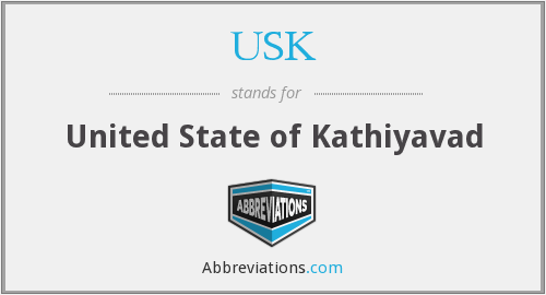 USK - United State of Kathiyavad