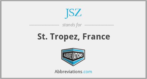 JSZ - St. Tropez, France