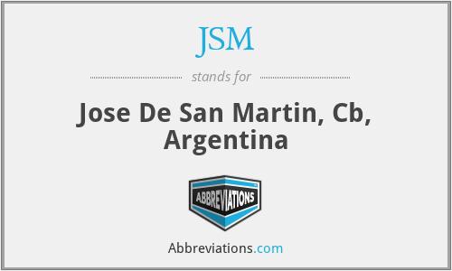 JSM - Jose De San Martin, Cb, Argentina