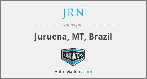 JRN - Juruena, MT, Brazil