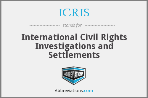 ICRIS - International Civil Rights Investigations and Settlements