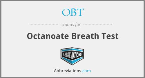 OBT - Octanoate Breath Test