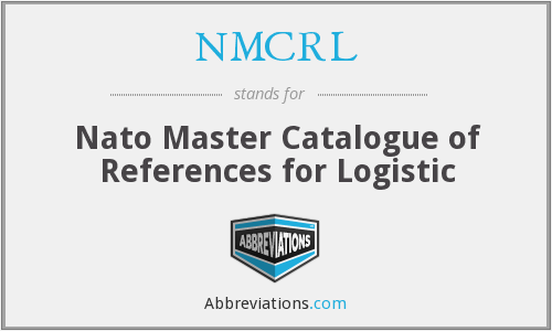 What does NMCRL stand for?