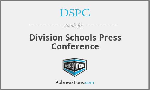 DSPC - Division Schools Press Conference