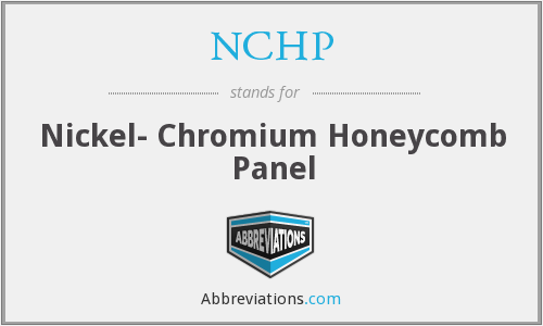 NCHP - Nickel- Chromium Honeycomb Panel
