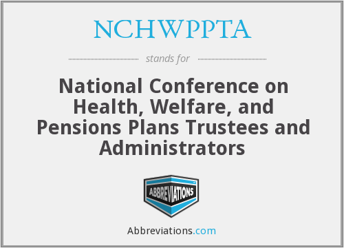 What does NCHWPPTA stand for?