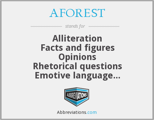What does AFOREST stand for?