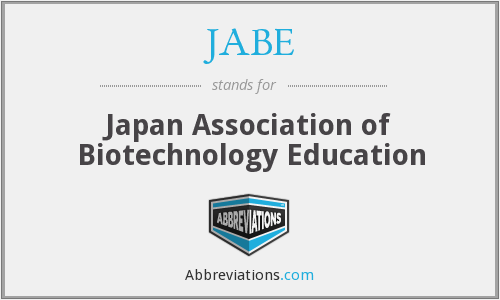 What does JABE stand for?