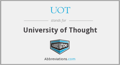 UOT - University of Thought
