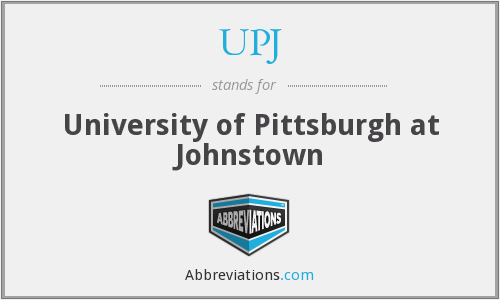 What does UPJ stand for?