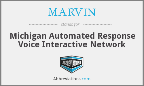 MARVIN - Michigan Automated Response Voice Interactive Network