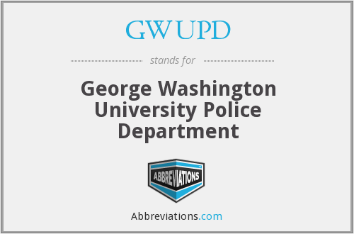 GWUPD - George Washington University Police Department