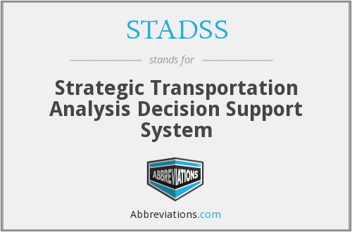 What does STADSS stand for?