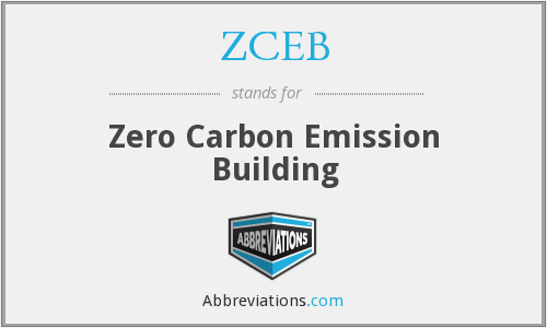 ZCEB - Zero Carbon Emission Building