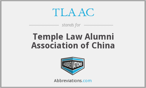 What does TLAAC stand for?