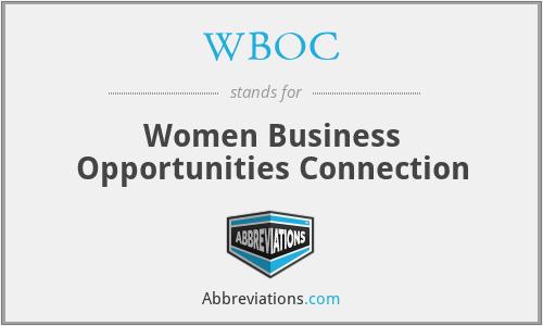 WBOC - Women Business Opportunities Connection