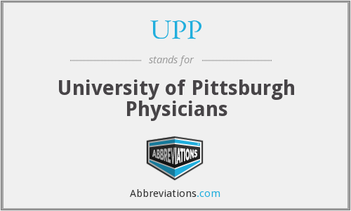 UPP - University of Pittsburgh Physicians