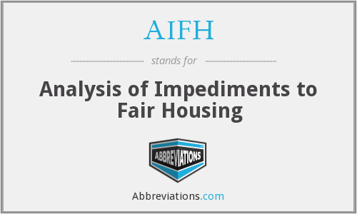 What does AIFH stand for?