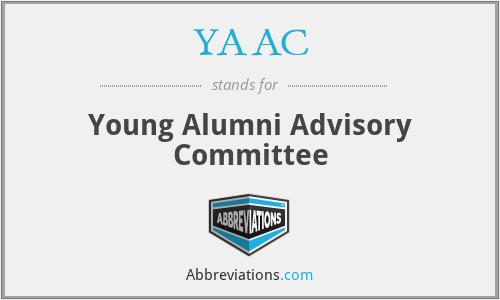 YAAC - Young Alumni Advisory Committee