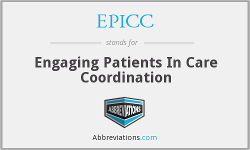 EPICC - Engaging Patients In Care Coordination