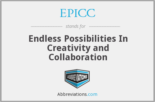 EPICC - Endless Possibilities In Creativity and Collaboration