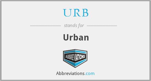 URB - Urban