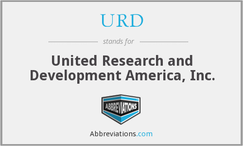 URD - United Research and Development America, Inc.