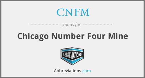CNFM - Chicago Number Four Mine